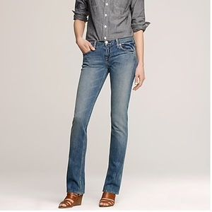 J. Crew Matchstick Jeans Lived In Wash